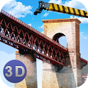 Bridge Construction Crane Sim icon