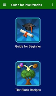 Beginners Guide for Pixel Worlds - náhled