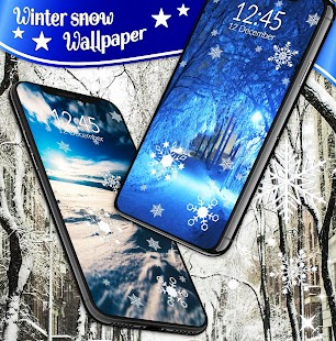 Winter snow wallpaper- screenshot thumbnail