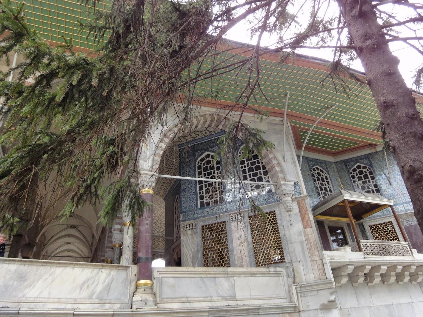 kiosque de Mustapha Pacha au Palais de Topkapi