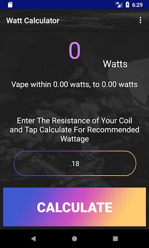 Watt Kalkulator