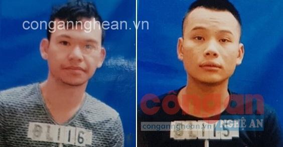 2 đối tượng Trần Thái Hiền và Hà Sơn Tý