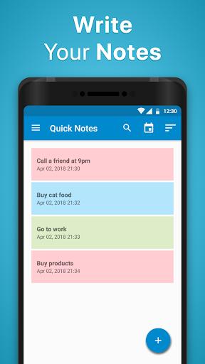 Notepad - Quick Notes screenshots 1