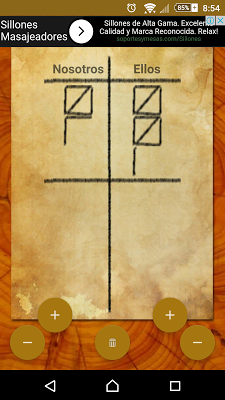 Anotador de Truco - screenshot