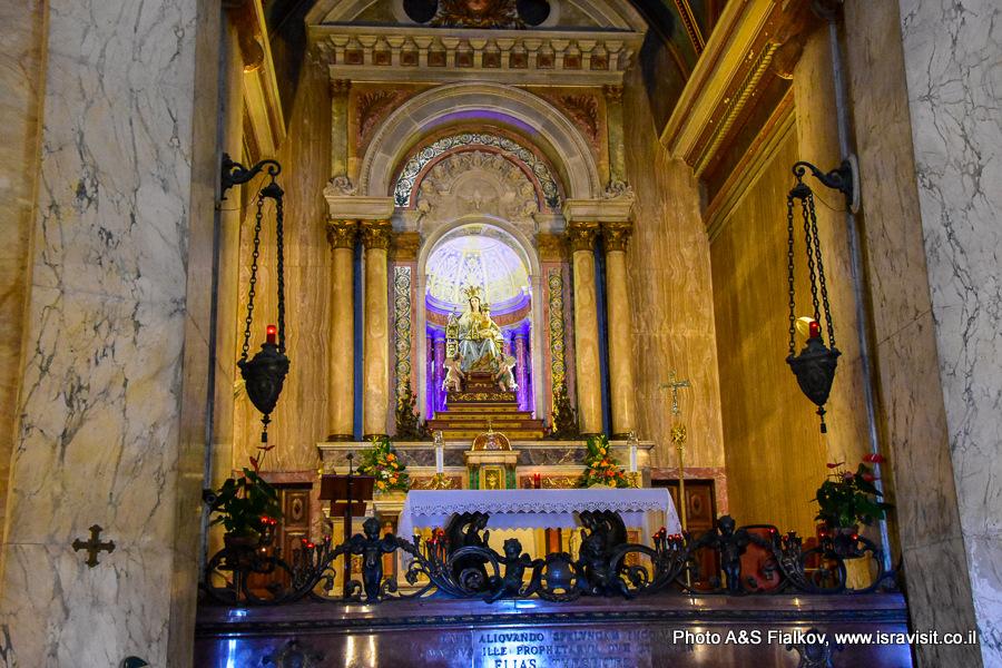 Монастырь Богоматери Горы Кармель в Хайфе, Экскурсия Светланы Фиалковой
