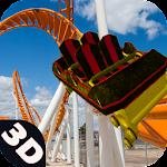 Roller Coaster Passenger Rail icon