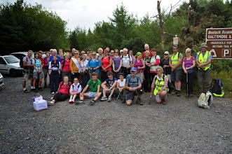 Photo: Charity Walk to Galtymore in aid of the Ian McKeever orphanage in Tanzania, July 27th, 2013. 1 of 2