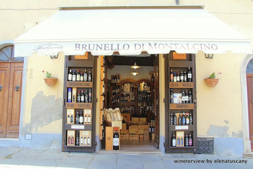 enoteca, enoteca montalcino, le potazzine, brunello di montalcino, montalcino, vino, toscana