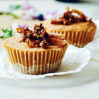 Pumpkin Pie Cheesecakes.