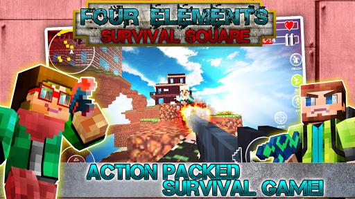 Four Elements Survival Square