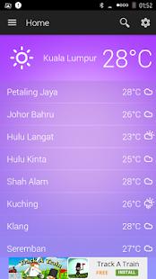 Malaysia Weather - náhled