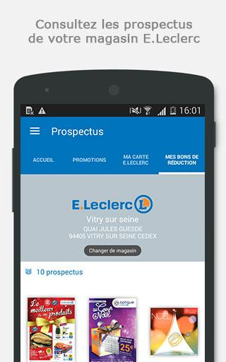 E.Leclerc- screenshot