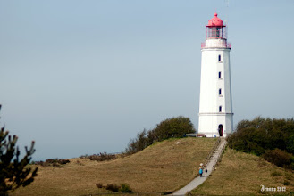Photo: Hiddensee is a car-free island in the Baltic Sea, located west of Rügen on the German coast.