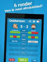 Screenshot of Quizkampen