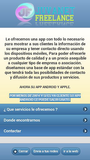 Juvanet app - Cadiz - Jerez