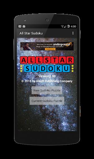 All Star Sudoku