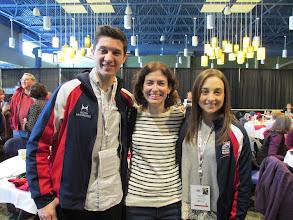 Photo: With Anastasia Cannuscio and Colin McManus