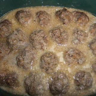 Creamy Crock Pot Meatballs