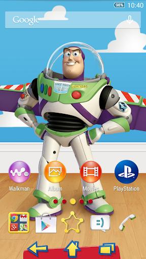 XPERIA™ Toy Story Buzz Theme