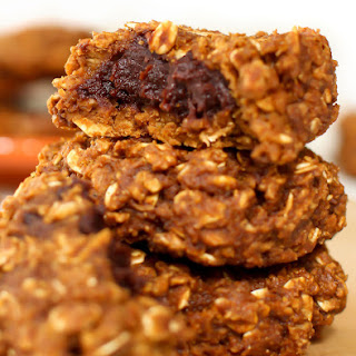 Brownie-Stuffed Pumpkin Cookies