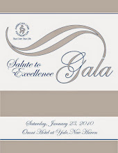 Photo: Gala Salute Logo and Program Book Cover Design