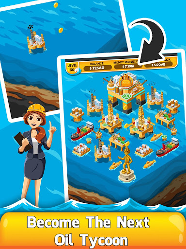 Oil Tycoon 2 - Idle Clicker Factory Miner Tap Game 1.0.3 de.gamequotes.net 1