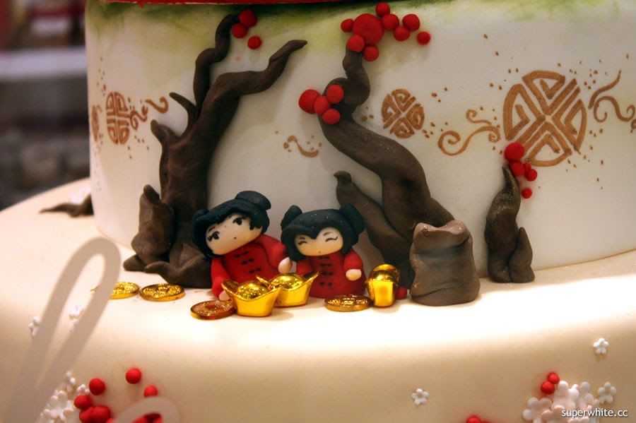 Chinese New Year Cake frm Delectable