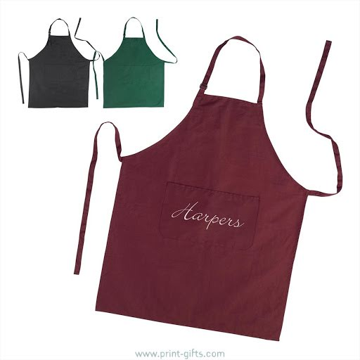Natural Cotton Aprons to Brand