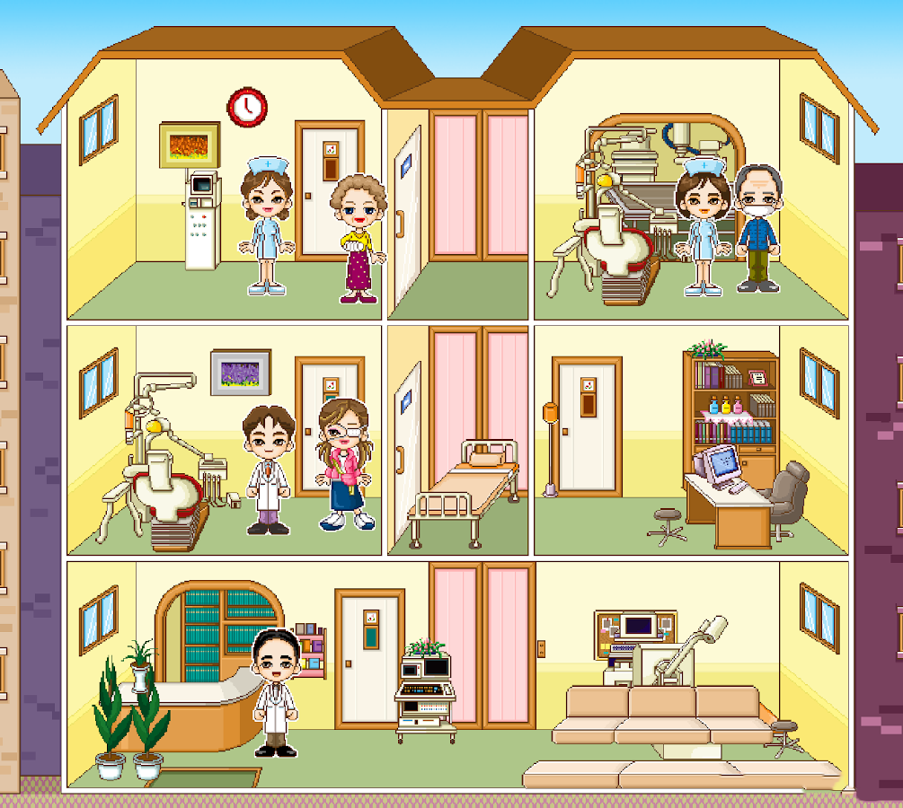 hospital makeover game android apps on google play