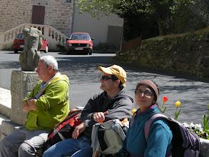 Photo: Repos bien mérité :Jean-Pierre, Michel, Neela