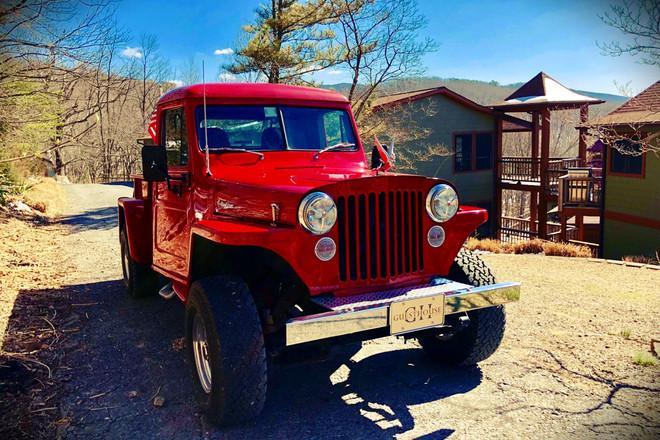 1947 Willys Pickup Hire NY
