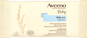 Aveeno Daily Care Baby Wipes - 72ct