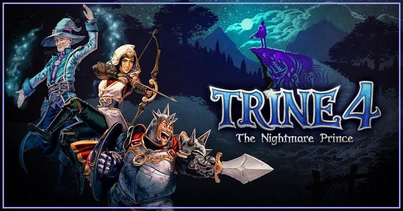 Trine 4: The Nightmare Prince เกมแอคชั่นไขปริศนาเตรียมวางจำหน่าย 8 ตุลาคมนี้