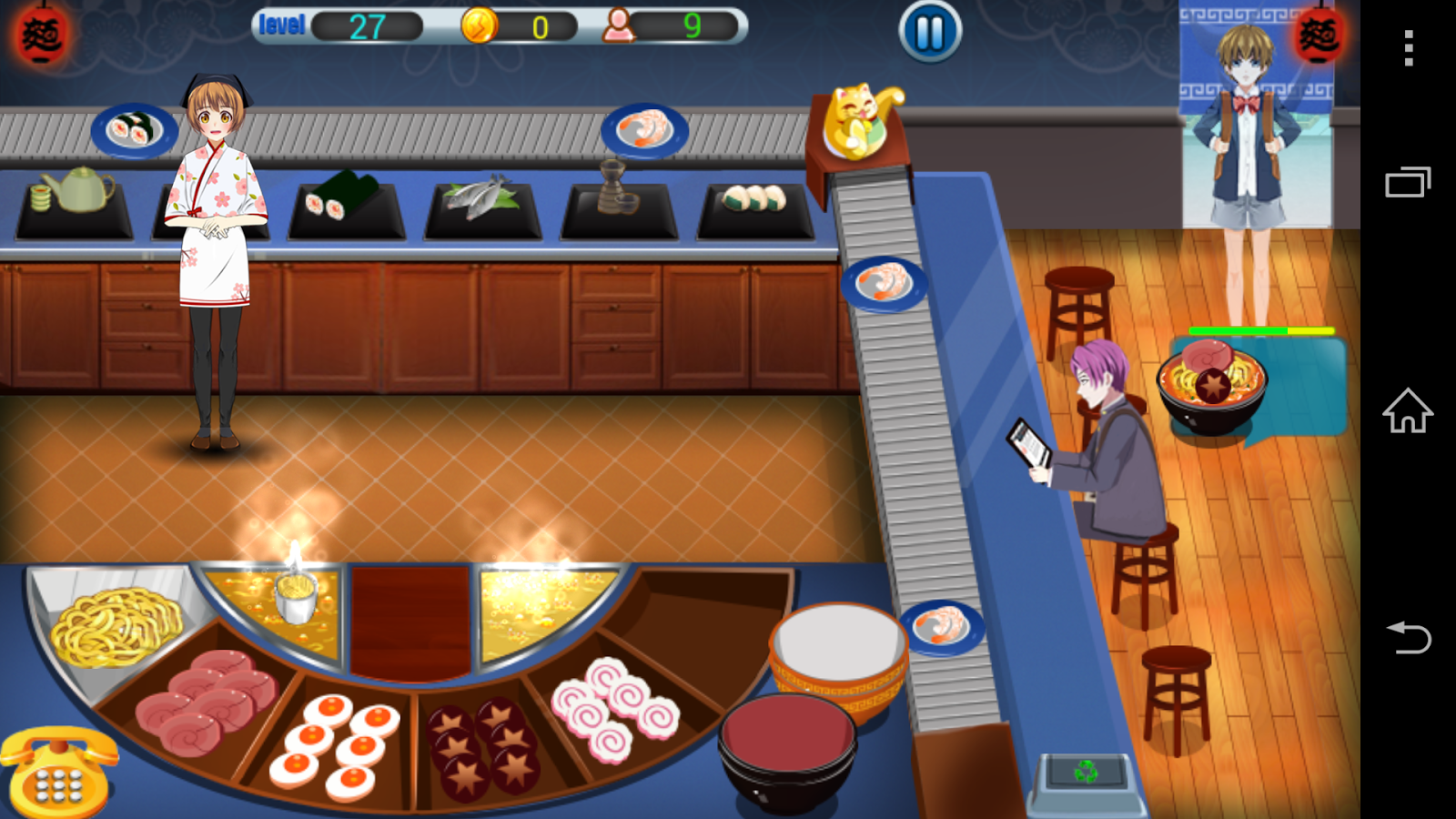 Ramen Sushi Bar- screenshot