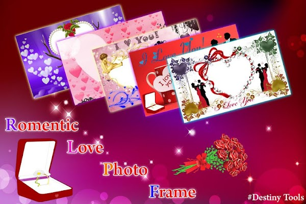 Romentic Love Photo Frame - screenshot