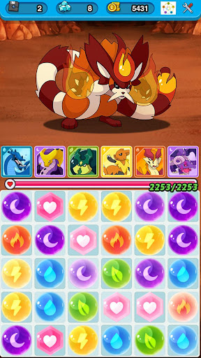 Dynamons Evolution Puzzle & RPG: Legend of Dragons 1.1.1 Cheat screenshots 6