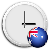 Australia Clock & RSS Widget