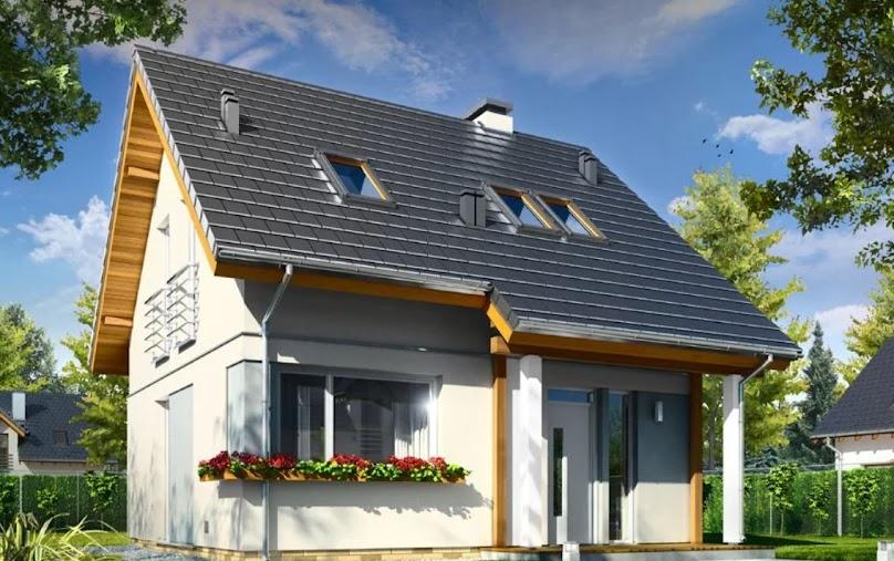 Przykładowy dom do 70 m2 - już wkrótce bez pozwolenia?