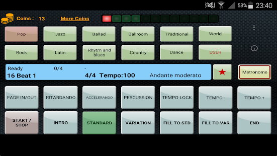 Metrodrummer metronome & drum- screenshot thumbnail