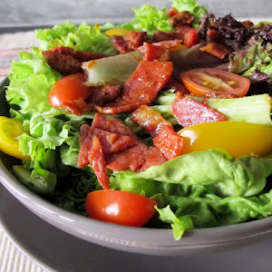 Tandoori Bacon salad