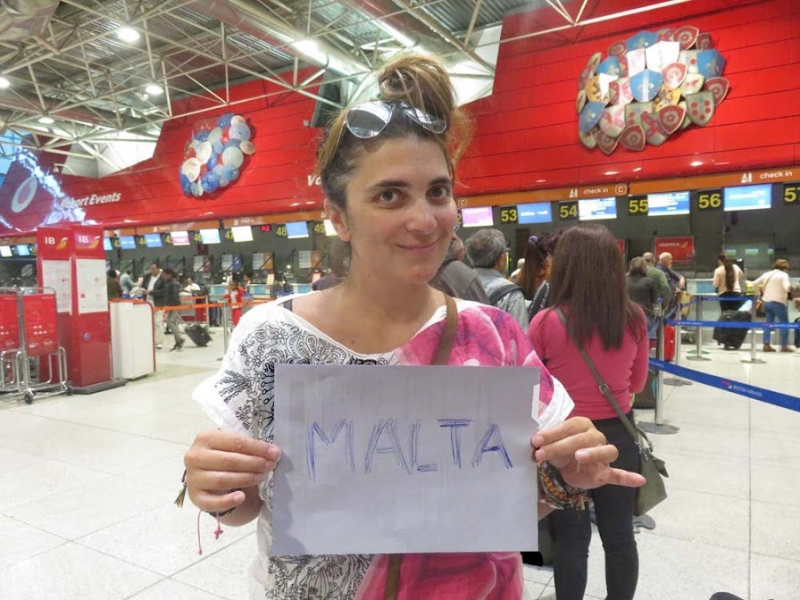M A L T A 🇲🇹 1º dia – Chegada a Malta | Crónicas de uma viagem a Malta