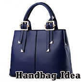 The idea of a woman's handbag