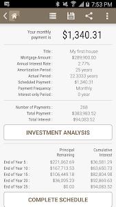 HPB Mortgage Loan Calculator screenshot 3