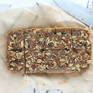 Date and Nut Power Bars.