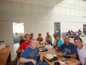 Photo: Vendredi matin à l'aéroport de Nice avant l'embarquement.