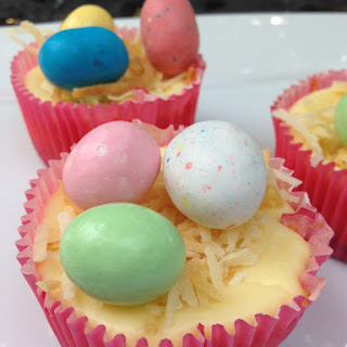 Easter Egg Mini Cheesecake Cupcake