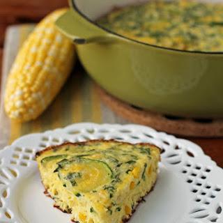 Corn and Zucchini Summer Frittata Recipe