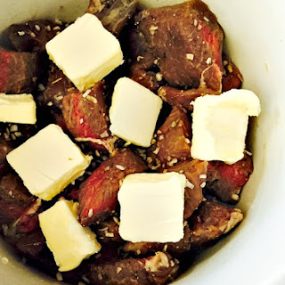 Crockpot Steak Bites.
