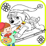 Learn Paint for Paw Patrol Fans APK icon