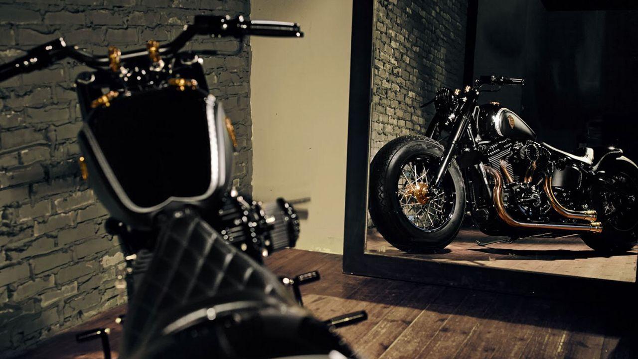 Harley Davidson Softail Slim by Rough Crafts